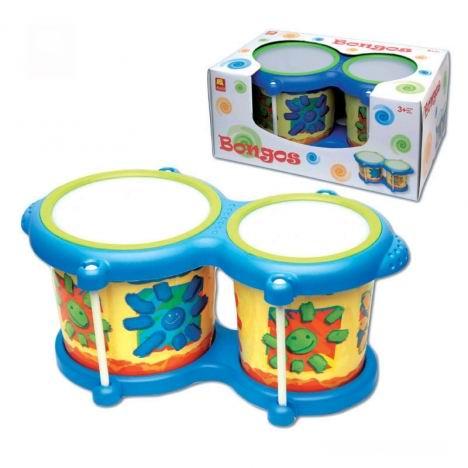 Барабан детский halilit Бонго купить в интернет-магазине robinzoniya.ru.