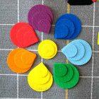 Разноцветные лепестки Ларчик Воскобович