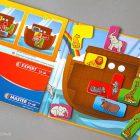 Игра магнитная для путешествий BONDIBON Ноев ковчег