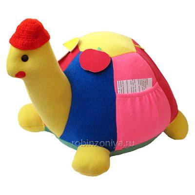 Черепаха мягкая игрушка для развития мелкой моторики