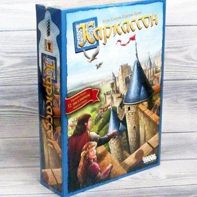 Настольная игра Каркассон базовый новый