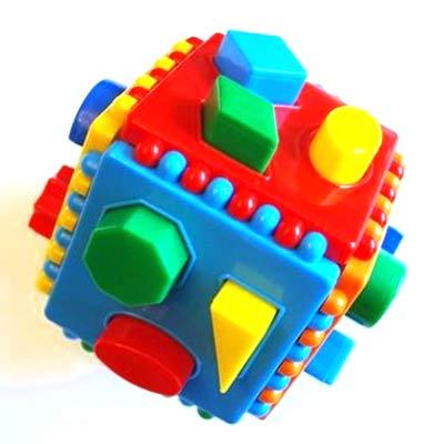 Игрушка сортер Логический куб купить в интернет-магазине robinzoniya.ru.