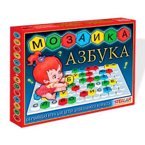 Мозаика напольная Азбука от Стеллар купить в интернет-магазине robinzoniya.ru.