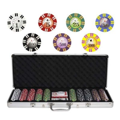 Набор для покера Royal Flush 500 фишек