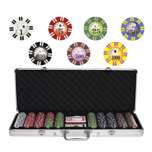 Набор для покера Royal Flush 500 фишек купить в Воронеже в интернет-магазине robinzoniya.ru.