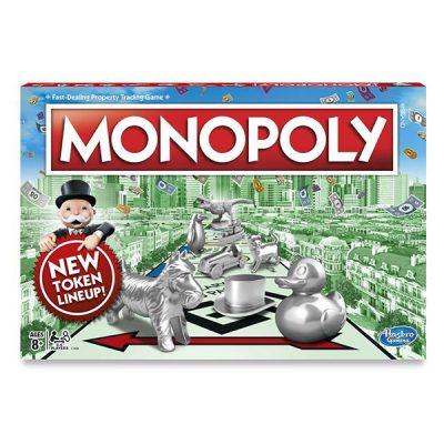 Монополия классическая Hasbro (с новыми фишками)