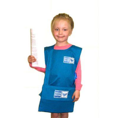 Костюм детский Почтальон (накидка и шапочка)