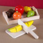 Разрезные фрукты с деревянным ножиком Viga