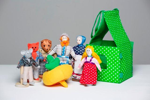 Театр шагающий Репка с домиком купить с доставкой по России в интернет-магазине robinzoniya.ru.