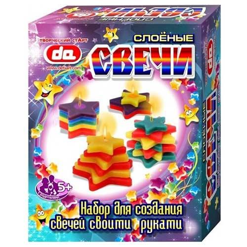 Домашнее изготовление свечей Звездочки купить в интернет-магазине robinzoniya.ru.