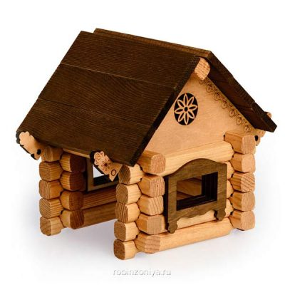 Томик деревянный конструктор Изба