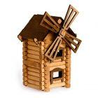 Томик деревянный конструктор Мельница