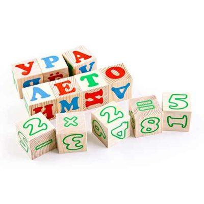 Кубики Алфавит с цифрами, Томик