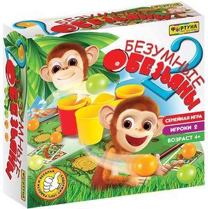 Настольная игра Безумные обезьяны 2 / Фортуна