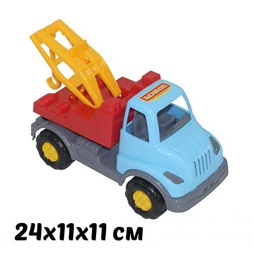 Машинка для детского сада Леон Эвакуатор купить в интернет-магазине robinzoniya.ru.
