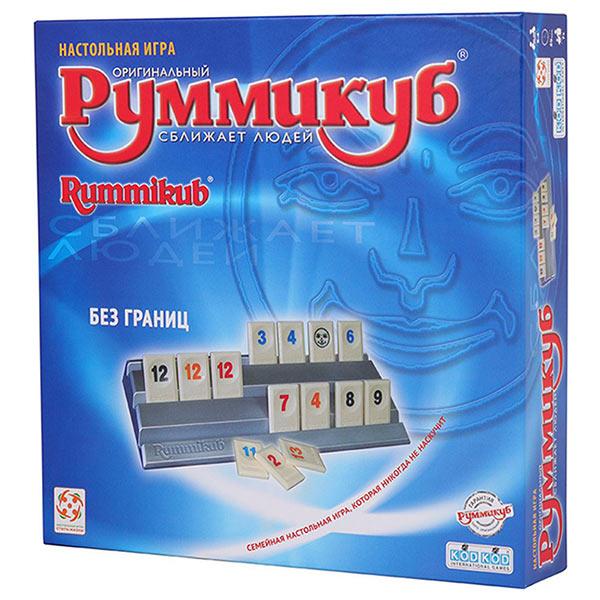 Настольная игра Руммикуб Без границ