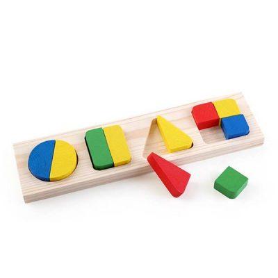 Рамка с вкладышами Геометрия большая / Томик