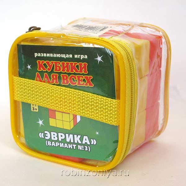 Игра кубики для всех №3 Эврика купить в интернет-магазине robinzoniya.ru.