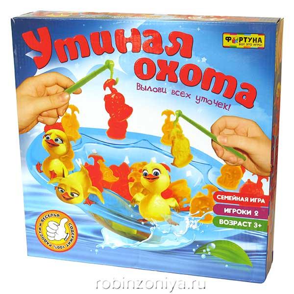 Настольная игра Утиная охота от Фортуна купить в интернет-магазине robinzoniya.ru.