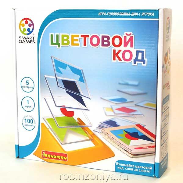 Настольная игра Цветовой код от Bondibon купить в интернет-магазине robinzoniya.ru.