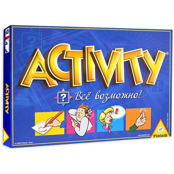 Настольная игра Активити Всё возможно купить в интернет-магазине robinzoniya.ru.
