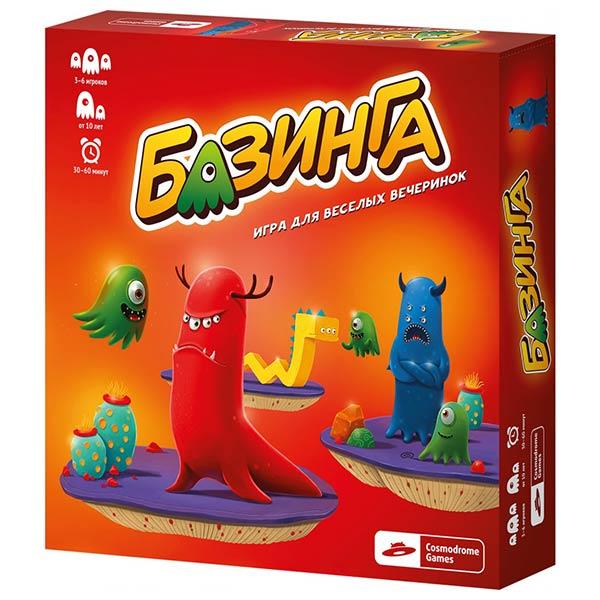 Настольная игра Базинга купить с доставкой по России в интернет-магазине robinzoniya.ru.