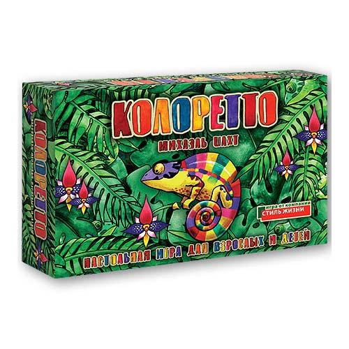 Настольная игра для детей Колоретто купить в интернет-магазине robinzoniya.ru.