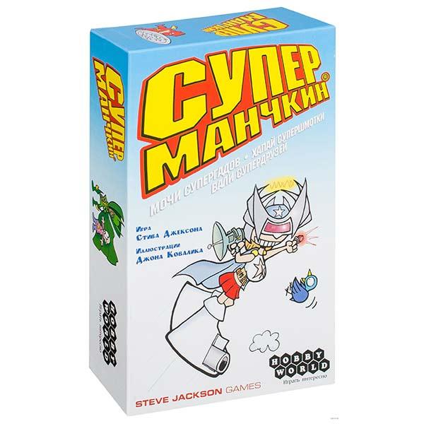 Настольная игра Манчкин Супер купить в интернет-магазине robinzoniya.ru.