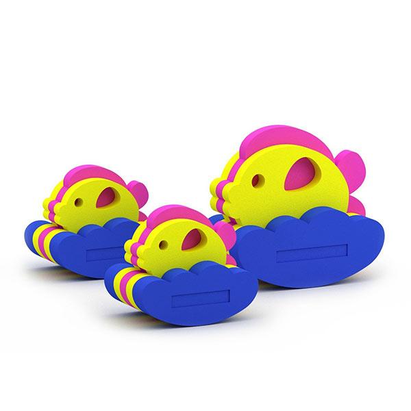 Конструктор — игрушка для купания Семейство рыбок, El'Basco Toys