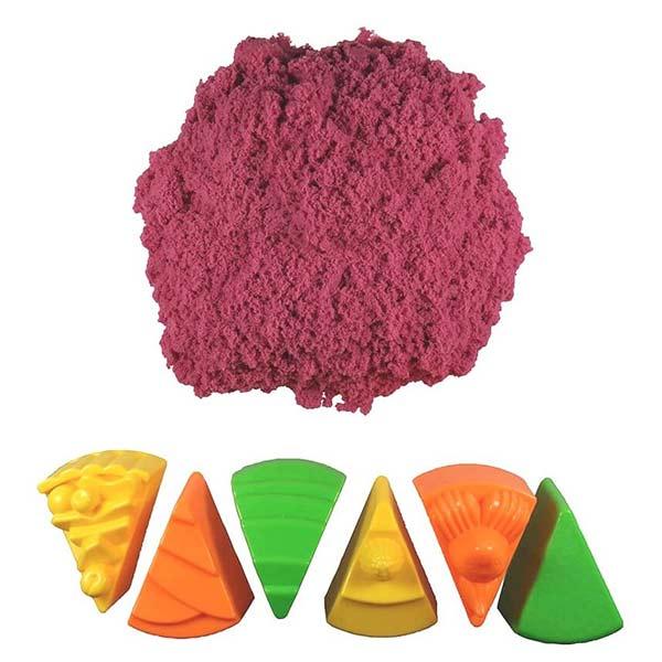 Космический песок Веселая кондитерская 1 кг, розовый