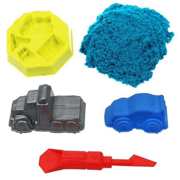 Космический песок Дорожные приключения 1 кг, голубой
