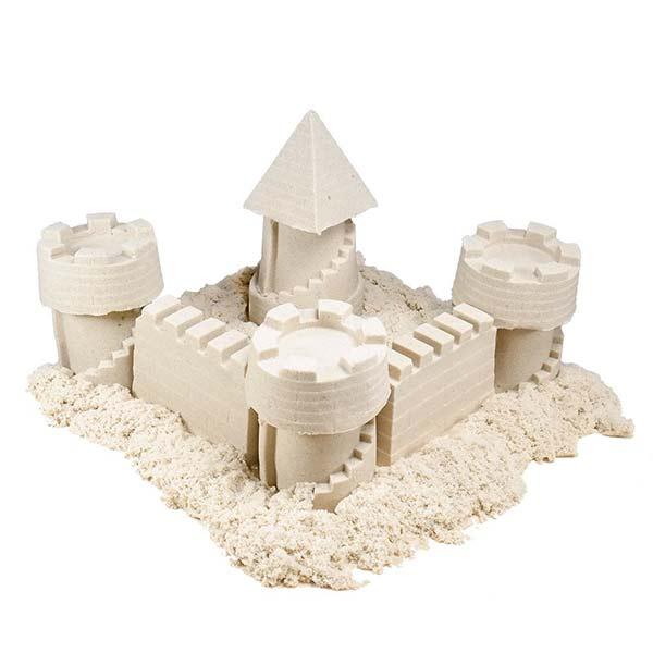 Космический песок Замок 2 кг, натуральный
