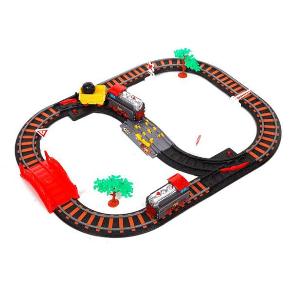 Железная дорога для детей Останови крушение (сокращенный путь)