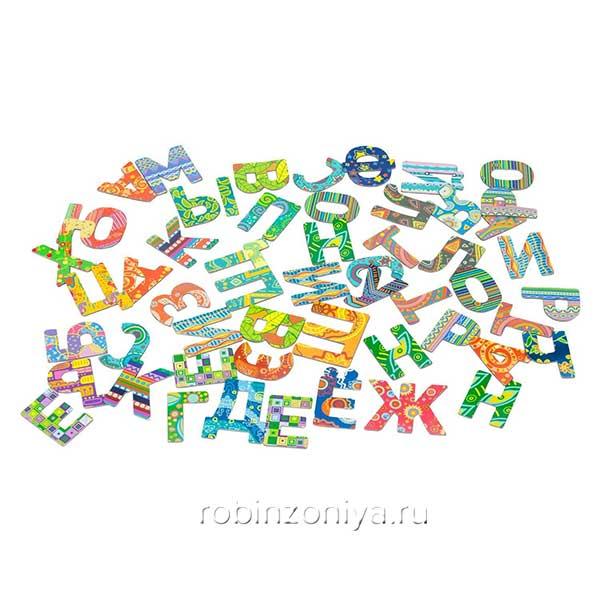 Магнитная азбука «Где еж?» (Банда умников)