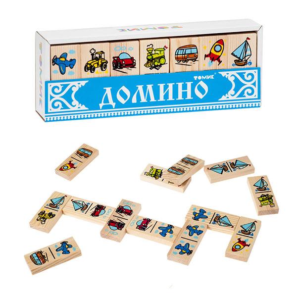 Детская игра домино Транспорт Томик