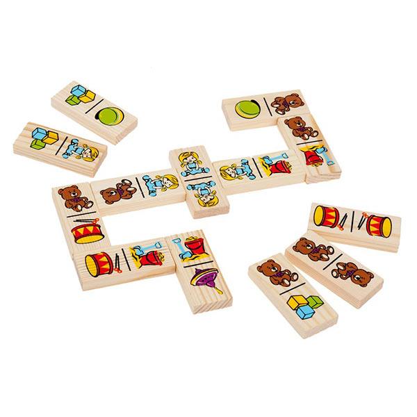 Детская игра домино Игрушки Томик