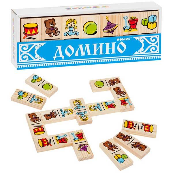 игра домино Игрушки Томик