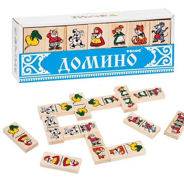 игра домино Репка Томик