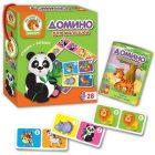 Домино для малышей Зоопарк VladiToys