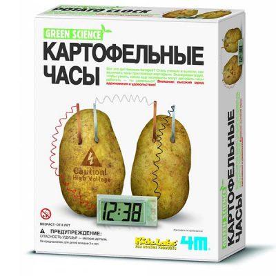 Набор опытов Картофельные часы 4M
