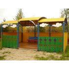 Теневой навес для детского сада 4054
