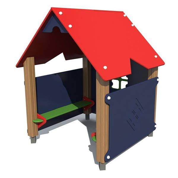 Детский игровой домик из дерева 5001