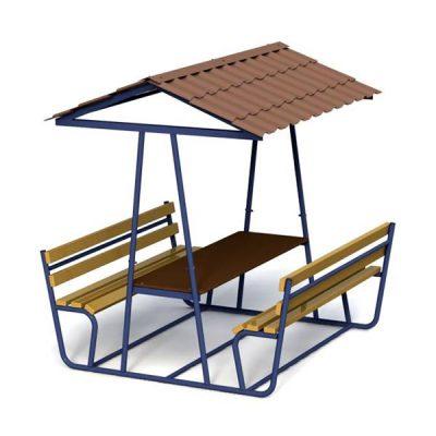 Столик с навесом для благоустройства 5403