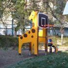 Спортивный комплекс с баскетбольным кольцом 7817