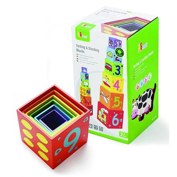 Складывающая пирамидка Viga коробка