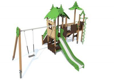 Детский игровой комплекс S1204