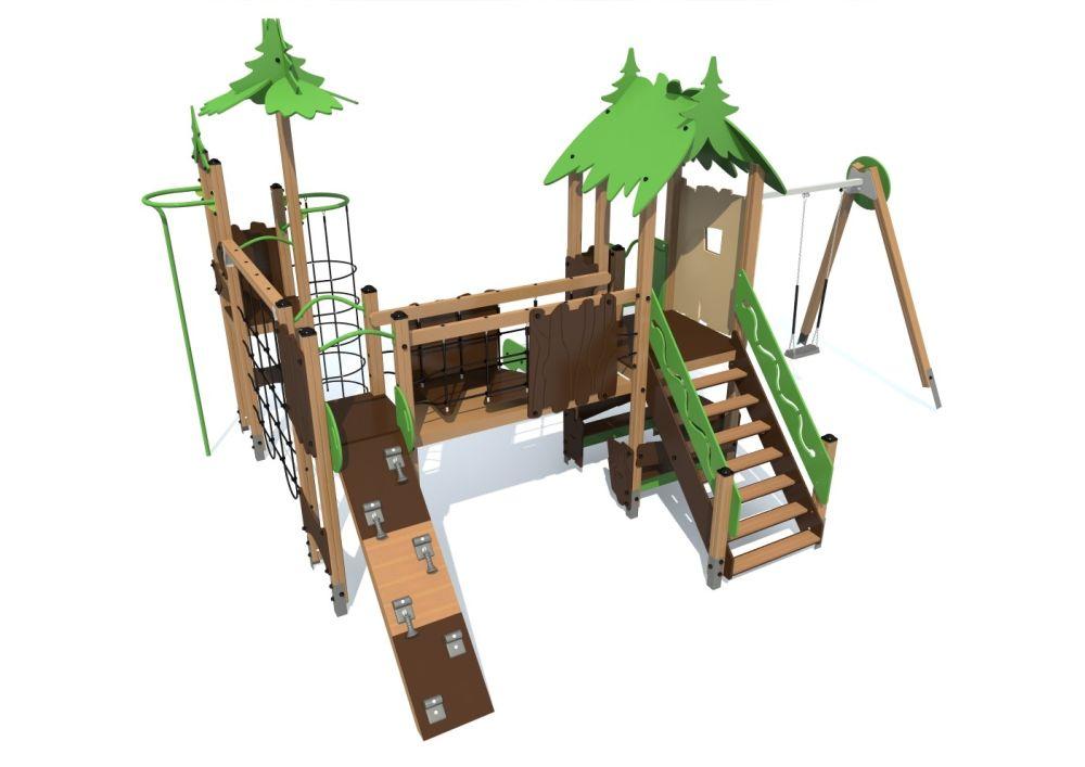 Детский игровой комплекс S1302