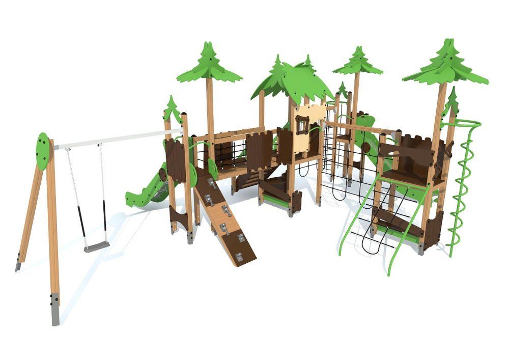 Детский игровой комплекс S1402