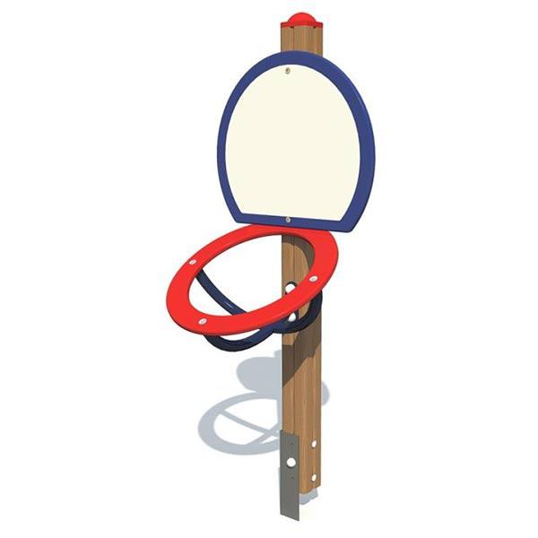 Баскетбольное кольцо низкое 4010