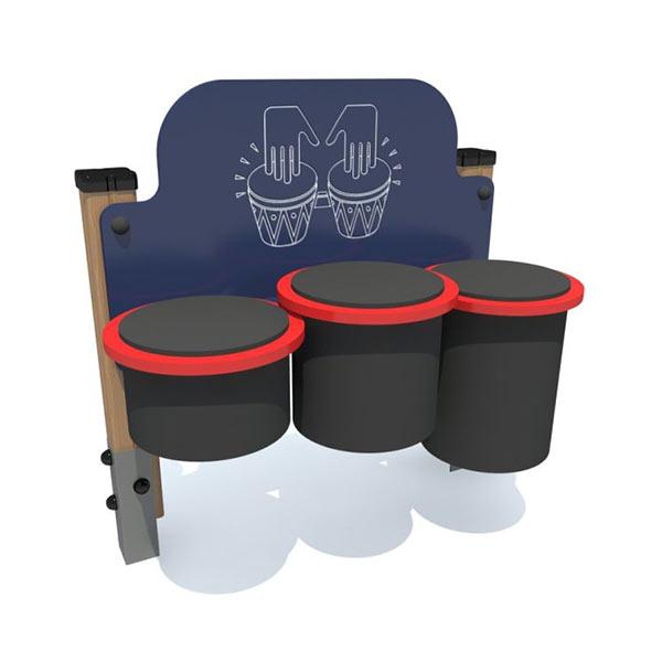 Барабаны Игровая панель для детской площадки 4029
